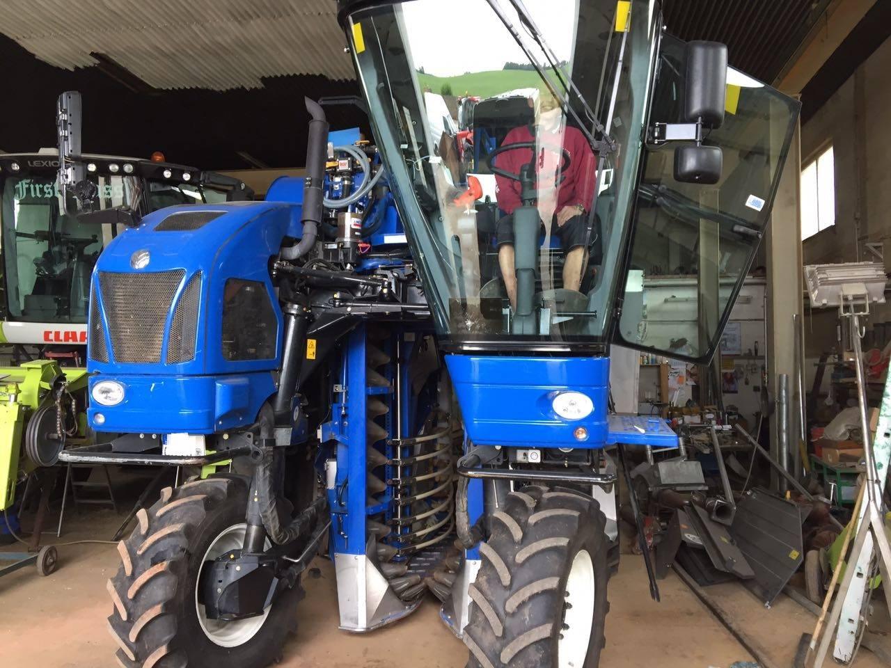 Frontscheibe für Erntemaschine