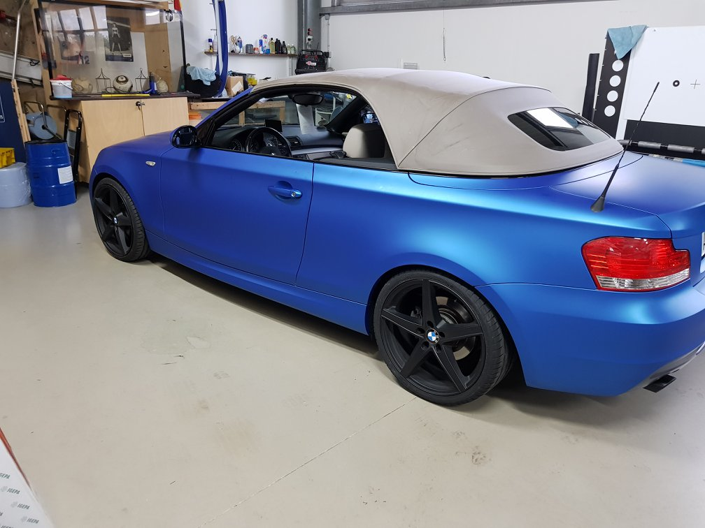 BMW 1er Cabrio – Wrapping