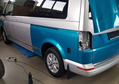Car Wrapping T6