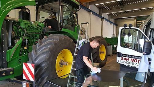 John Deere – Landmaschine