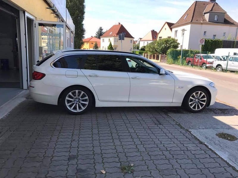 Folientönung am BMW 5er